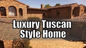 luxury tuscan style house beautiful interior u0026 decor youtube