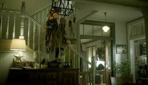 Vampire Weekend Chandelier Inside The Red Victorian House On The Tv Show