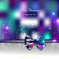 new year card photo blue purple christmas and new year card background with