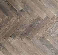 oak herringbone in a traditional and antique grey patina doors