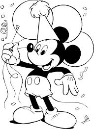 print mickey mouse coloring pages intended inspire color