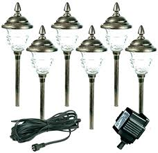 low voltage led landscape lighting kits install landscape lighting amazing low voltage outdoor lighting kits