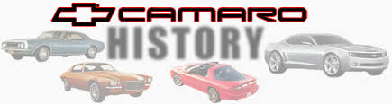 evolution of the chevy camaro chevrolet camaro history 1967 present