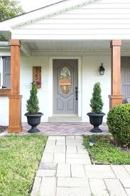 porch column ideas how to wrap existing porch columns in stained