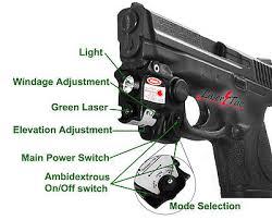 m p shield laser light combo lasertac subcompact green laser light combo for s w m p beretta px4