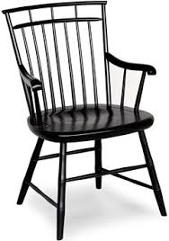 Black Windsor Chairs No 235fb Birdcage Windsor Arm Chair Windsor Chairs Furniture