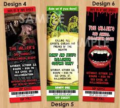 scary halloween invitations halloween invites printable
