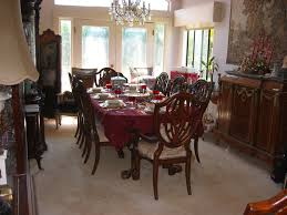 Formal Dining Room Sets For 10 11pc Mahogany Dining Room Set Chippendale China Buffet Ebay Image