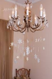 how to create an ornament chandelier for the home