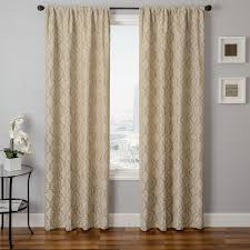 Linen Sheer Curtains Bed Bath And Beyond by Softline Home Fashions Drapery Athens Tile Panel