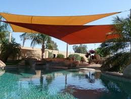 Backyard Shade Sail by Fabric Shade Structures Custom Tension Structures Valley