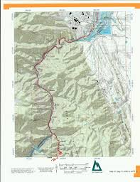 Topographical Map Of Colorado by Colorado Trail Mapbook