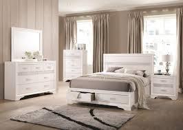 miranda 205111 bedroom set 5pc in white by coaster w options