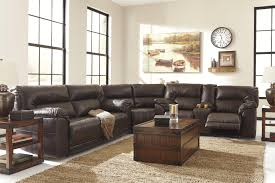3 piece reclining sectional by benchcraft wolf and gardiner wolf