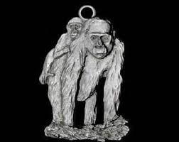 gorilla ornament etsy