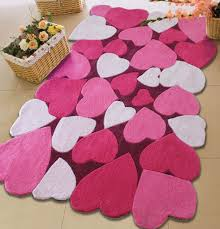 purple and pink area rugs 4 u0027 x 6 u0027 ft kids all pink bedroom area rug with hearts patterns