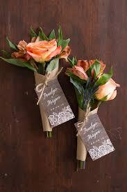 fall wedding favors budget mini bouquet wedding favors for fall the elli