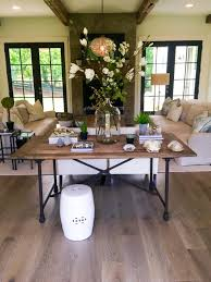 console turns into dining table ways to reuse and redo a dining table diy network blog made