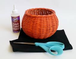 halloween storage the good life blog from basket to bowl a halloween makeover