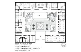 courtyard floor plans decoration floor plan house design u shaped home plans with