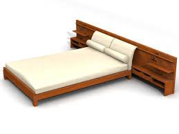 lits modernes en bois traditionnels 3d model free 3d