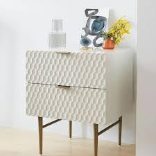 Bedside Tables Bedside Table Parchment West Elm Uk