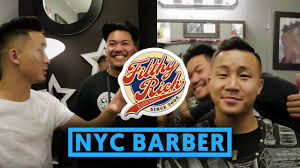 fungbros haircut asian celebrity barber in nyc filthy rich youtube
