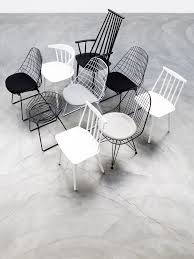 White Metal Chairs Outdoor Interior Trend Urban Astronaut By Perscentrum Wonen With Pastoe