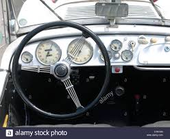 bmw dashboard dashboard of an old bmw 328 veteran car stock photo royalty free