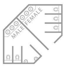 public toilet layout google search architecture pinterest