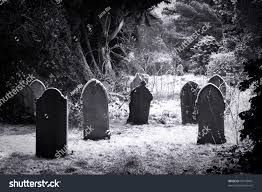graveyard clipart black and white grave stones snow black white stock photo 39143461 shutterstock