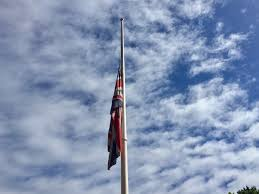 Flag Half Mass Today Flag At Half Mast In Memory Of Those Who Have Died In Manchester
