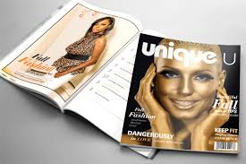 uniqueu magazine magazine layout design services iskon design