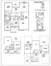 Home Floorplans by Floor Plans Chatfield Homes For Sale In Lexington