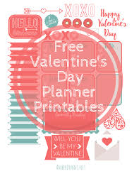 free printable valentine u0027s planner stickers for the happy planner