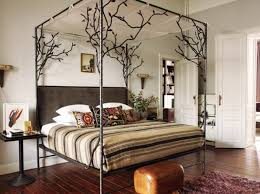 Metal Canopy Bed Frame Strong Metal Canopy Bed Frame Queen Modern Wall Sconces And Bed