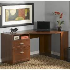 Corner Computer Desk Cherry Latitude Run Estrada Reversible Corner Computer Desk Finish