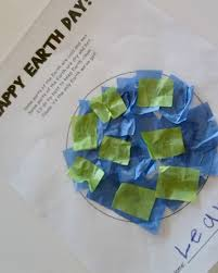 earth day crafts printable project and poem somewhat simple