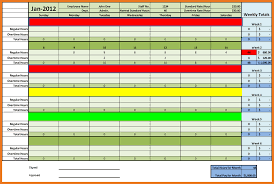 Excel Template For Timesheet Excel Timesheet Template Resume Skills
