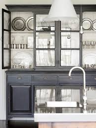 Black Dining Hutch Black Hutch Design Ideas