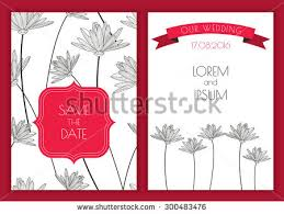 save the date sts set vector floral save date vintage stock vector 300483503