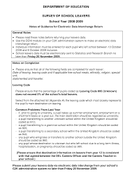 resume templates sample high school leavers resume example template sample resume for high school leavers frizzigame