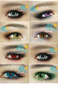 wholesale eye contact lens halloween crazy contact lenses