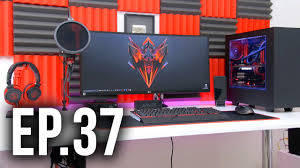 room tour project 37 best gaming setups ft techsource youtube