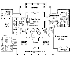 colonial luxury house plans the large dining room colonial floor plan floor 020s