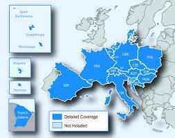 Garmin Maps Free New Garmin Drive 40lm Western Europe 4 3 Gps Satnav Free Lifetime