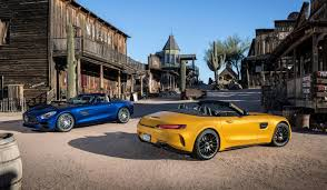 mercedes amg gt and gt c roadster join expanded gt flagship range