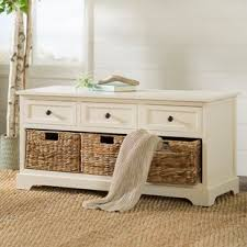 White Storage Bench White Storage Benches You Ll Wayfair