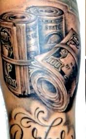 stack of money tattoo drawings pictures to pin on pinterest