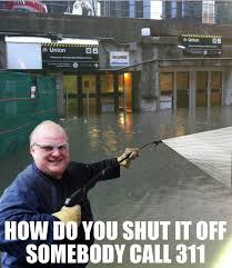 Union Memes - a roundup of union station flood funnies